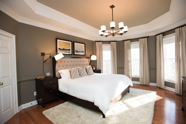 bedroom decorating ideas and designs Remodels Photos New South Home Matthews North Carolina United States transitional-bedroom-002