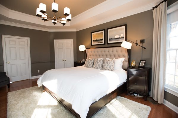 bedroom decorating ideas and designs Remodels Photos New South Home Matthews North Carolina United States transitional-bedroom-003