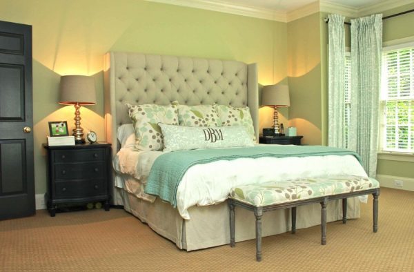 bedroom decorating ideas and designs Remodels Photos New South Home Matthews North Carolina United States transitional-bedroom
