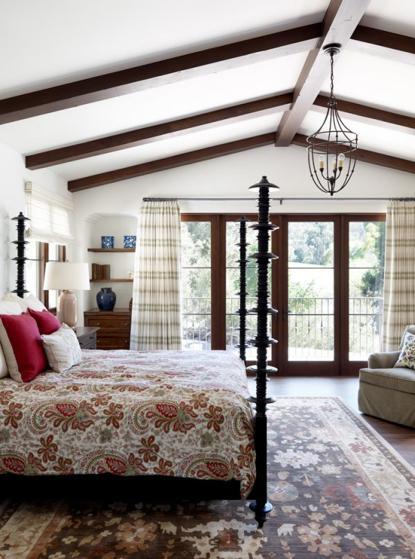 bedroom decorating ideas and designs Remodels Photos Norman Design Group, Inc.Torrance California United States mediterranean-bedroom-002