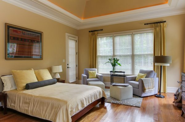 bedroom decorating ideas and designs Remodels Photos Otrada LLC Raleigh North Carolina United States transitional-bedroom