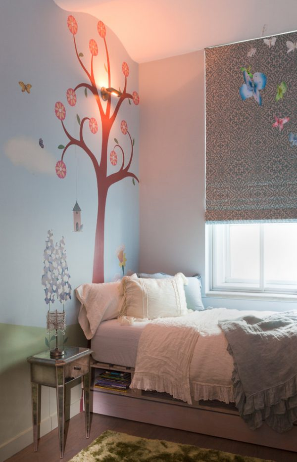 bedroom decorating ideas and designs Remodels Photos PURVI PADIA DESIGN New York United States contemporary-kids