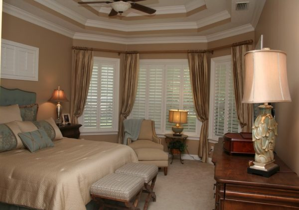 bedroom decorating ideas and designs Remodels Photos Pamela Neel Interiors St. Johns Florida United States traditional-bedroom-001