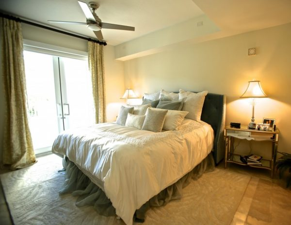 bedroom decorating ideas and designs Remodels Photos Paris Flea Tampa Florida United States modern-bedroom