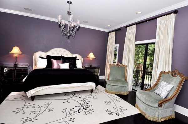 bedroom decorating ideas and designs Remodels Photos Paris Flea Tampa Florida United States transitional-bedroom-001