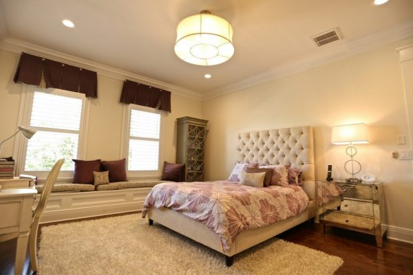 bedroom decorating ideas and designs Remodels Photos Paris Flea Tampa Florida United States transitional-bedroom-002