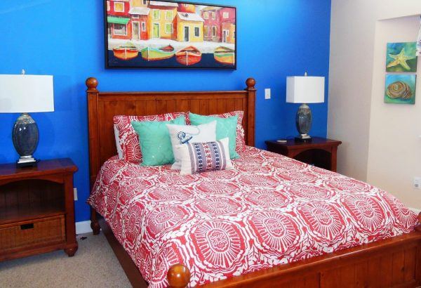 bedroom decorating ideas and designs Remodels Photos Patty Lustig - Decor & You Southbury Connecticut United States beach-style-bedroom