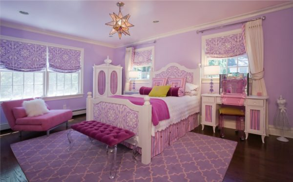 bedroom decorating ideas and designs Remodels Photos Paula Caponetti Designs LLC Colts Neck New Jersey United States traditional-kids