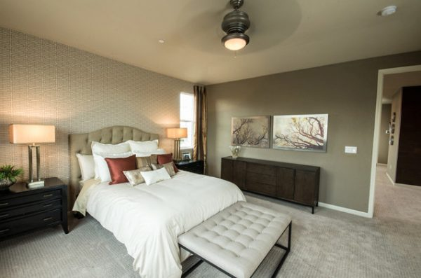 bedroom decorating ideas and designs Remodels Photos PepperJack Interiors Loomis California United States contemporary-bedroom-001