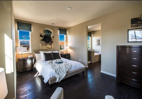 bedroom decorating ideas and designs Remodels Photos PepperJack Interiors Loomis California United States contemporary-bedroom-002
