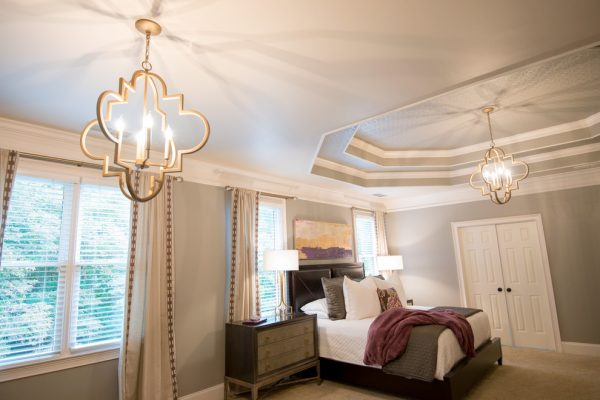 bedroom decorating ideas and designs Remodels Photos Peri Nicole Interiors Wake Forest Carolina United States transitional-003