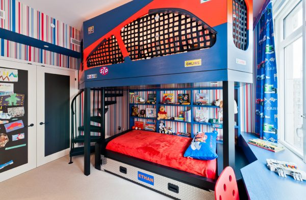 bedroom decorating ideas and designs Remodels Photos Perianth Interior Design New York United States contemporary-kids-001