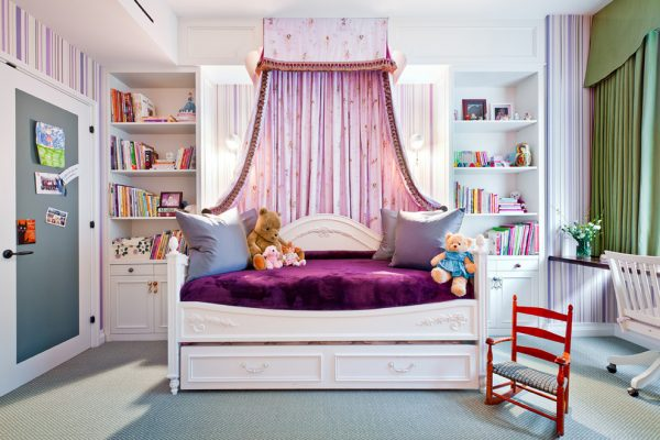 bedroom decorating ideas and designs Remodels Photos Perianth Interior Design New York United States traditional-kids