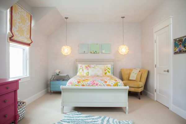 bedroom decorating ideas and designs Remodels Photos Peridot Interiors LLC Wilmington North Carolina United States eclectic-kids