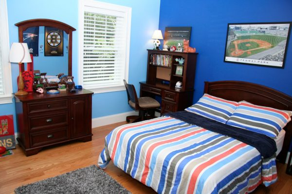 bedroom decorating ideas and designs Remodels Photos REFINED Hudson Massachusetts United States kids