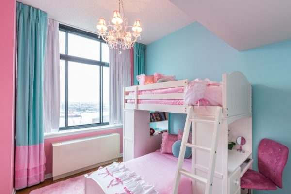bedroom decorating ideas and designs Remodels Photos Rococo Design Interiors Brooklyn New York United States shabby-chic-style-kids