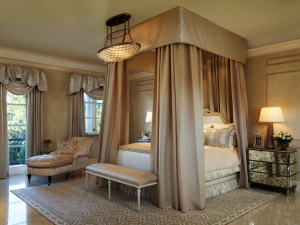 bedroom decorating ideas and designs Remodels Photos Rogers Design Group Palm Beach Gardens Florida United States mediterranean-bedroom