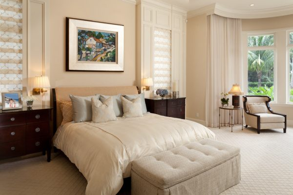 bedroom decorating ideas and designs Remodels Photos Rogers Design Group Palm Beach Gardens Florida United States traditional-bedroom-001