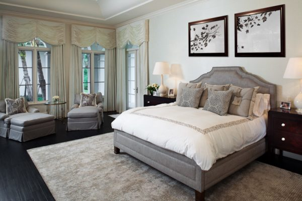 bedroom decorating ideas and designs Remodels Photos Rogers Design Group Palm Beach Gardens Florida United States traditional-bedroom-002