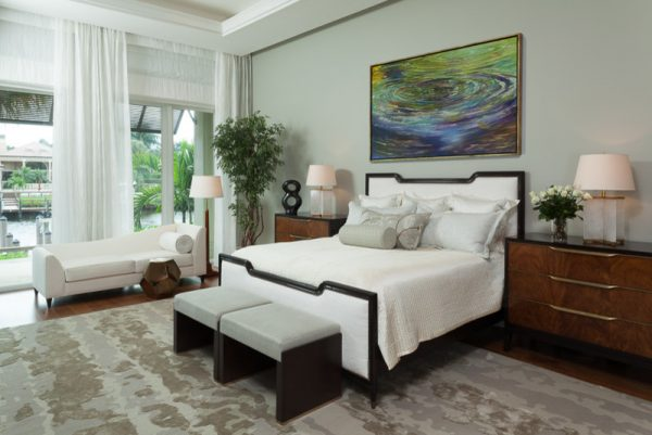 bedroom decorating ideas and designs Remodels Photos Rogers Design Group Palm Beach Gardens Florida United States transitional-bedroom-002