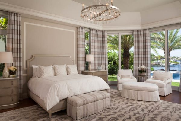 bedroom decorating ideas and designs Remodels Photos Rogers Design Group Palm Beach Gardens Florida United States transitional-bedroom-004