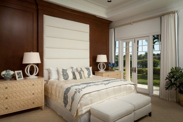 bedroom decorating ideas and designs Remodels Photos Rogers Design Group Palm Beach Gardens Florida United States transitional-bedroom-005