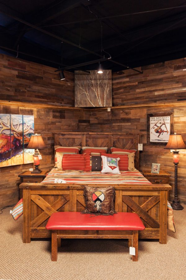 bedroom decorating ideas and designs Remodels Photos Roughing It In Style Madison Wisconsin United States rustic-003