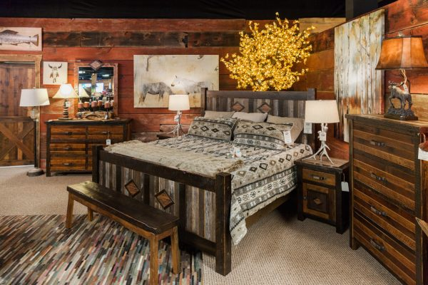 bedroom decorating ideas and designs Remodels Photos Roughing It In Style Madison Wisconsin United States rustic