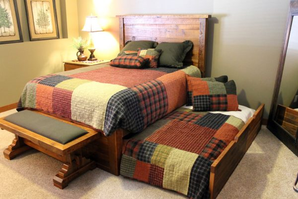 bedroom decorating ideas and designs Remodels Photos Roughing It In Style Madison Wisconsin United States rustic-bedroom-007