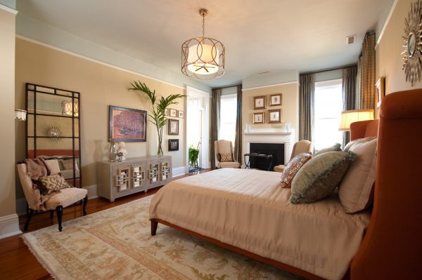 bedroom decorating ideas and designs Remodels Photos Sandra Ericksen Design Charleston South Carolina United States eclectic-bedroom