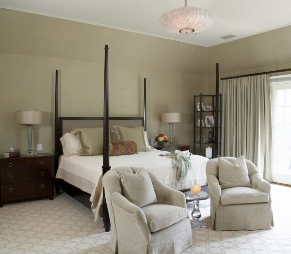 bedroom decorating ideas and designs Remodels Photos Sandra Oster Interiors Greenwich Connecticut United States contemporary-bedroom