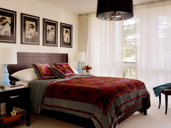 bedroom decorating ideas and designs Remodels Photos ScavulloDesign Interiors San Francisco California United States asian-bedroom