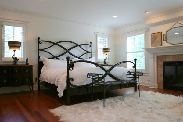 bedroom decorating ideas and designs Remodels Photos Sharon Kory Interiors Birmingham Michigan United States contemporary-bedroom-001