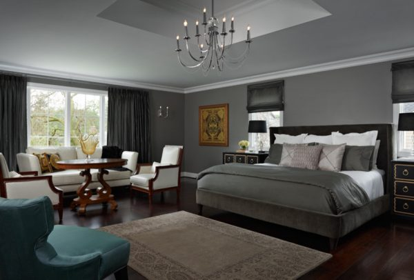 bedroom decorating ideas and designs Remodels Photos Sharon Kory Interiors Birmingham Michigan United States eclectic-bedroom-002