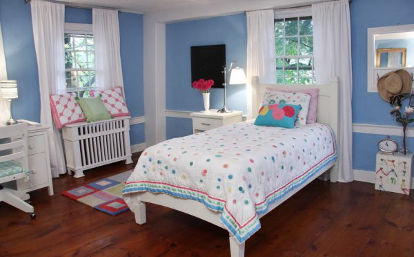 bedroom decorating ideas and designs Remodels Photos Sharon McCormick Design Durham Connecticut United States traditional-kids