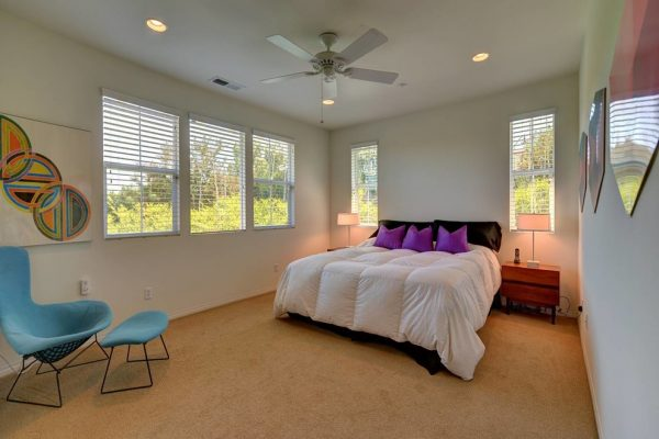 bedroom decorating ideas and designs Remodels Photos Shelley Sass Designs San Diego California United States midcentury