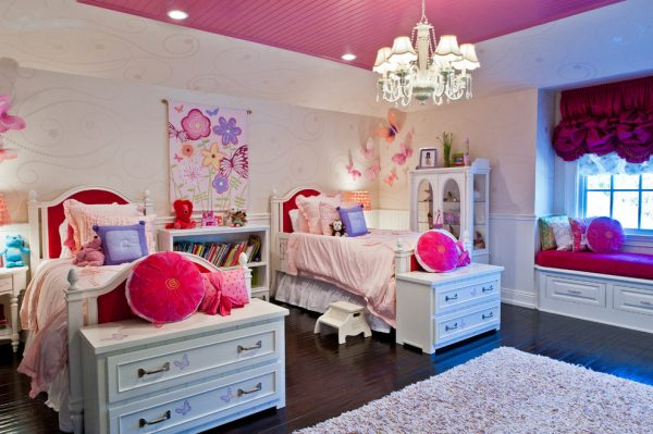 bedroom decorating ideas and designs Remodels Photos Smith Firestone Associates Los Angeles California traditional-kids