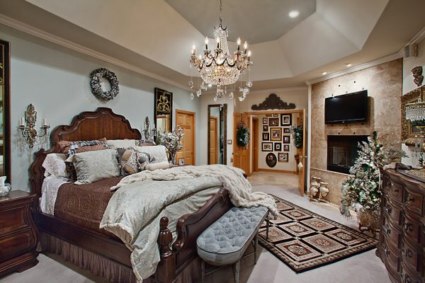 bedroom decorating ideas and designs Remodels Photos Spallina Interiors Homer Glen Illinois United States mediterranean-bedroom-001