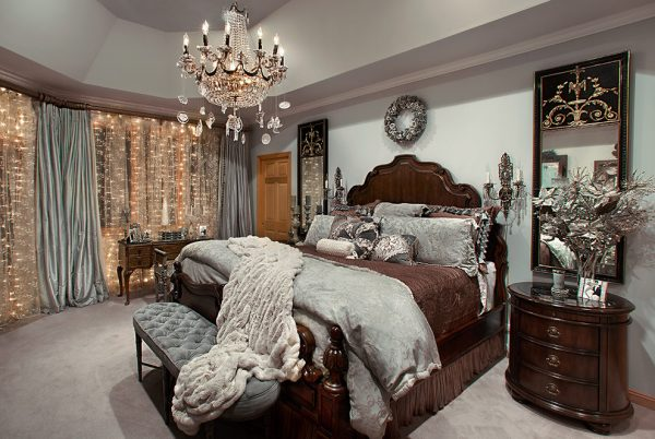 bedroom decorating ideas and designs Remodels Photos Spallina Interiors Homer Glen Illinois United States mediterranean-bedroom