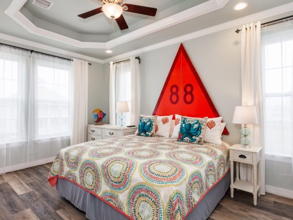 bedroom decorating ideas and designs Remodels Photos Staged for Perfection Galveston Texas United States beach-style