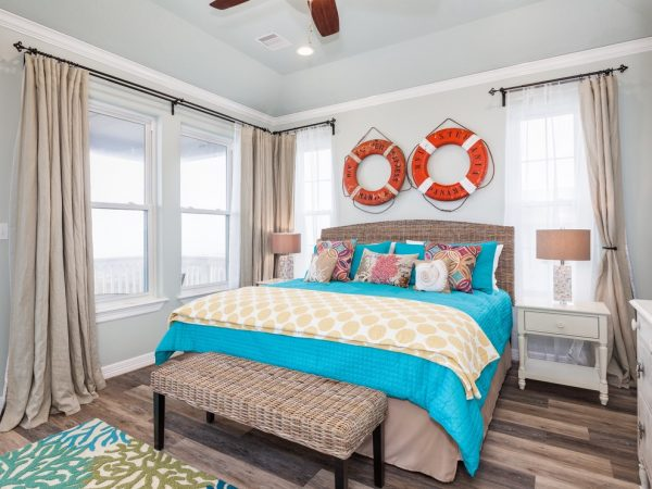 bedroom decorating ideas and designs Remodels Photos Staged for Perfection Galveston Texas United States beach-style-bedroom-001