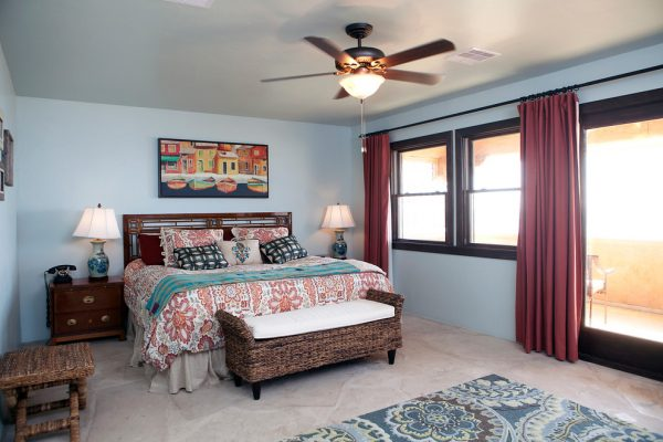 bedroom decorating ideas and designs Remodels Photos Staged for Perfection Galveston Texas United States mediterranean-bedroom