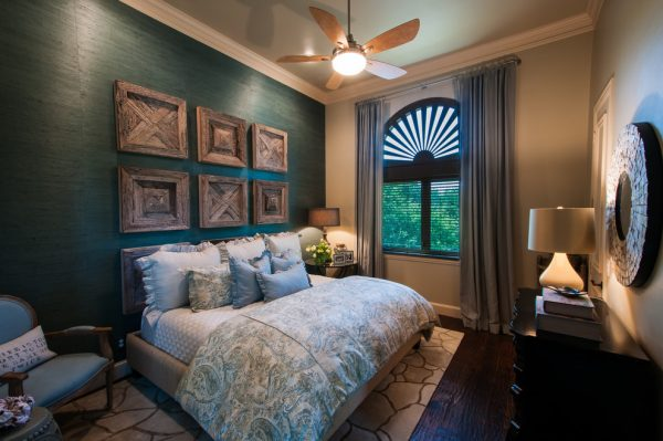 bedroom decorating ideas and designs Remodels Photos Stephanie Kratz Interiors Frisco Texas United States rustic-bedroom