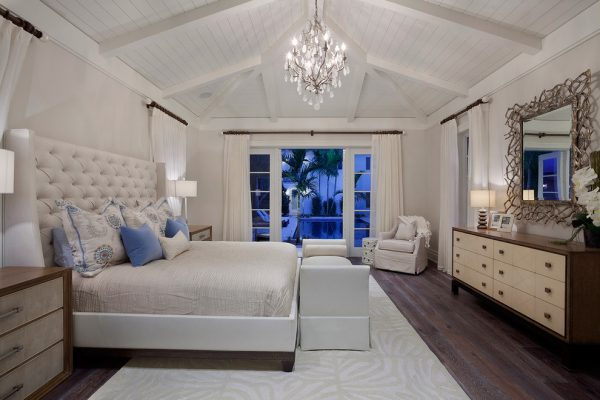 bedroom decorating ideas and designs Remodels Photos The Decorators Unlimited Palm Beach Gardens Florida contemporary-bedroom-004