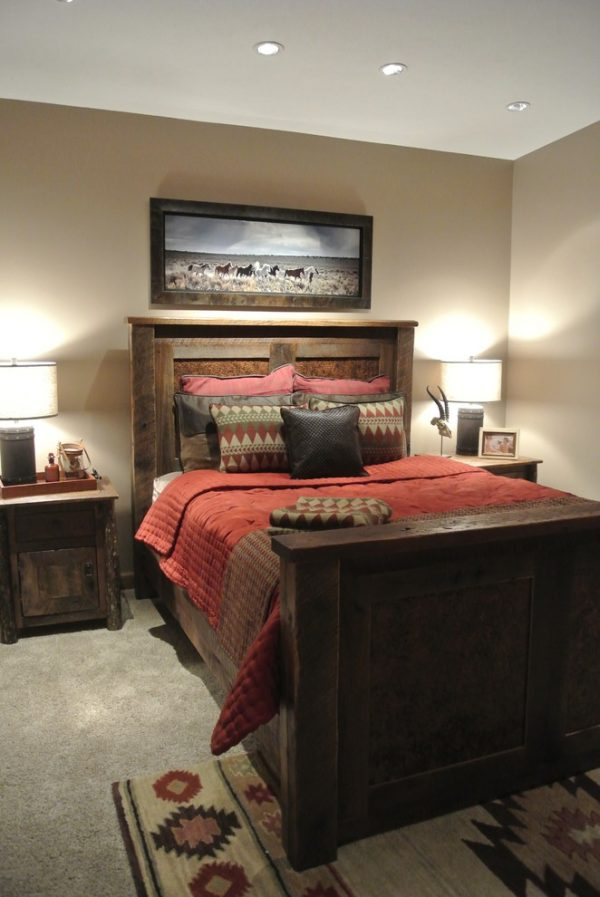 bedroom decorating ideas and designs Remodels Photos The Modern Hive Omaha Nebraska United States rustic-bedroom-004