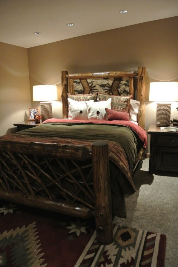 bedroom decorating ideas and designs Remodels Photos The Modern Hive Omaha Nebraska United States rustic-bedroom