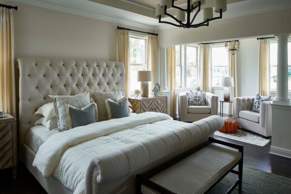 bedroom decorating ideas and designs Remodels Photos Tina Marie Interior Design Lake Mary Florida United States transitional-bedroom-001