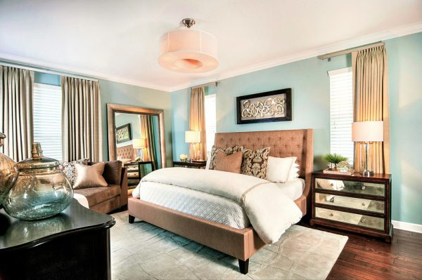 bedroom decorating ideas and designs Remodels Photos Tina Marie Interior Design Lake Mary Florida United States transitional-bedroom-003