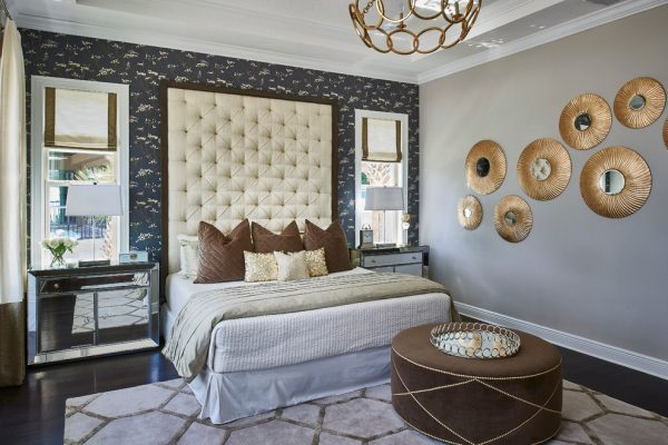 bedroom decorating ideas and designs Remodels Photos Tina Marie Interior Design Lake Mary Florida United States transitional-bedroom-004