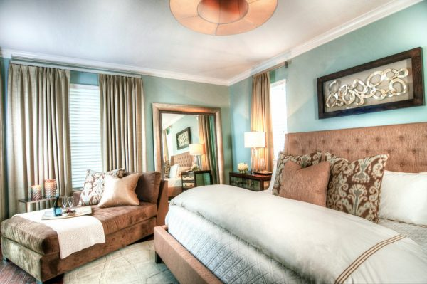 bedroom decorating ideas and designs Remodels Photos Tina Marie Interior Design Lake Mary Florida United States transitional-bedroom-005